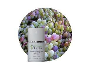 cosmétiques au raisin
